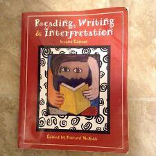 Reading , Writing & Interprertation Second Edition Book