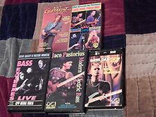Victor Wooten - Bass Extremes Live +(VHS x5) Billy Sheehan) FLECKTONES) Edu.) (: