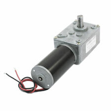 DC 12V 14RPM 1:505 Reduction Ratio Gear Box Worm Geared Motor 634JSX505-31ZY
