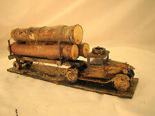 Logging Truck -custom weathered from historic pictures- O, On30 or small G scale