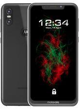 Hülle Crystal Clear für Motorola One Case Tasche Cover Handyhülle Schutzhülle