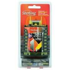 100 x Sterling Premium Heavy Duty Trade Trimming Blades w/ Dispenser Made in UK