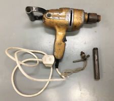 """More details for vintage black and decker drill. ah. 475w. general duty 1/2"""". collectable. gold"""