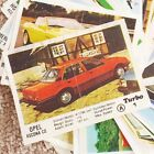 1987 1988 TURBO 1-50 Chewing GUM Wrapper Insert Complete Full Set 80s Collection