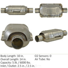 Catalytic Converter-Universal Rear,Center Eastern Mfg 70318