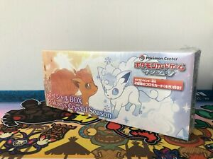 Pokemon Center Japan Alolan Vulpix Crystal Season Limited Special Box