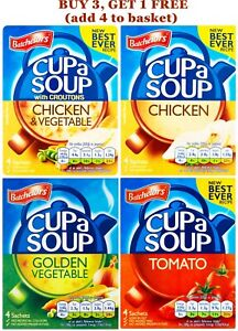 2x SACHET Batchelors Cup a Soup - Tomato Chicken Vegetable BUY ANY 3 GET 1 FREE