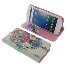 Tasche für Acer Liquid Z530 Book-Style Schutz Hülle Handytasche Buch Traumfänger