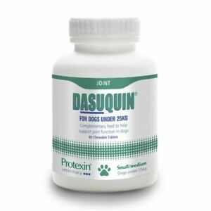Dasuquin Chewable Joint Supplement Tablets For Small Medium Dogs 5-25kg 80 Pack
