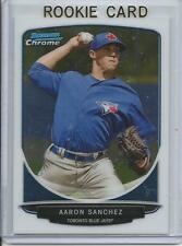 2013 Bowman Chrome Aaron Sanchez #TP44 Rookie Card RC Mint (Blue Jays)