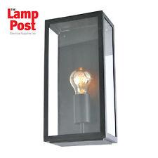 Forum Lighting MINERVA ZN-20944-BLK Outdoor Garden Box Lantern Black Finish
