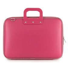 "Bombata - Pink Classic 15"" Laptop Case/Bag with Shoulder Strap"