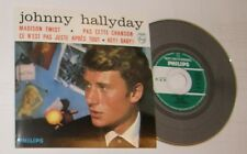 Johnny HALLYDAY (CD single 4 TITRES) MADISON TWIST - COMME NEUF