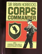 CORPS COMMANDER -Brian Horrocks, Belfield & Essame,  UK 2nd  HBdj  VG