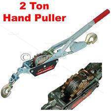 2 Ton Double Gear Car Van Boat Truck Farm Recovery Hand Puller Winch Hoist T0514