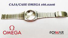 CAJA/CASE  OMEGA 166.0206 SEAMASTER  Ø35mm  SIN CRISTAL, FALTA 1 PASADOR