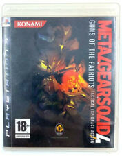 Metal Gear Solid 4 - Jeu Sony Playstation 3 / PS3 - PAL FR