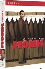 "DVD ""Monje - Temporada 4"" 4 DVD NUEVO EN BLÍSTER"