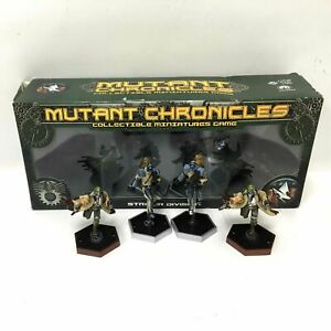 Fantasy Flight Games Mutant Chronicles Game Striker Division MC 15 Miniatures