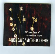 MAXI CD SINGLE (NEW) NICK CAVE AND THE BAD SEEDS FIFTEEN FEET OF PURE WHITE SNOW