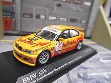 BMW E46 3er 320i DRM 2004 Champion Hürtgen Hasseröder #1 SP red Minichamps 1:43