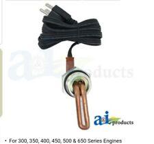 John Deere Coolant Block Heater 2355 2555 2630 2755 2955 3055 3155 4055 4250