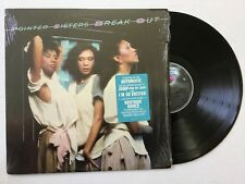 "Pointer Sisters ""Break Out"" 1983 vinyl Lp Planet Bel1-5410 w/hype sticker Mint"