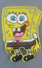Spongebob squarepants emroidered  iron on /sew on badge