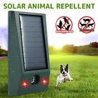 Solar Power Cat Repellent Scarer Deterrent Ultra Dog Fox Cat Pest Animal A+