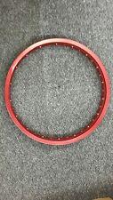 MOTORCYCLE ALUMINUM RIM ( COLOR RED)160 X16  ARO PARA KARPATY  DELANTERO TRASERO