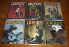 Creepy Archives Volumes 5,6,7,8,9,10 SEALED, Warren, Dark Horse, hardcovers