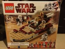 LEGO 8092 Star Wars Luke's Landspeeder Special Ed Skywalker Obi-Wan Sandtrooper