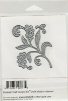 Elizabeth Craft Flourish with Flowers / Cutting Die ECDD797
