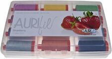 AURIFIL THREAD STRAWBERRY COLLECTION 100% COTTON LARGE SPOOLS 50 WT