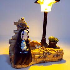 Spirited Away No Face chihiro table Lamp white and yellow light