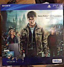 New Sony PlayStation 3 Harry Potter 3D Experience Movie Pack 160 GB Console Seal