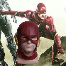 2017 Movie Justice League Mask The Flash Red Mask Halloween Helmet Handmade New