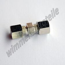 Bremsleitungsverbinder für Bremsleitung  4,75mm ohne zu bördeln Verbinder Quick