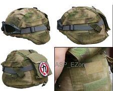 MICH 2000 Ver2 Tactical Helmet Cover for Outdoor Military  Helmet A-TACS FG