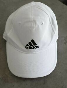 Adidas Childrens Climalite Performance Training Cap White One Size LN009 CC 07