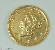 Coin Münze USA 1 Dollar Gold 1851 (O) Golddollar Liberty head 1er type