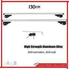 Universal 130cm Auto Relingträger Dachträger Lastenträger abschließbar 100kg DHL