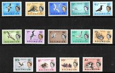 ASCENSION 1963 BIRDS DEFINITIVES  sg 70/83 UNMOUNTED - NEVER HINGED