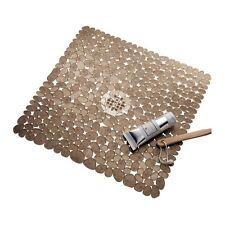 InterDesign Pebblz Shower Mat, Amber, New, Free Shipping
