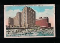 C 1925 Hotel Ambassador and Ritz Carlton Atlantic City New Jersey Postcard