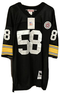 NWT Mitchell & Ness Size 54 XXL Jack Lambert Pittsburgh Steelers NFL Jersey