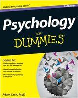 Psychology For Dummies (Paperback), Cash, Adam, 9781118603598