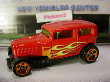 2017 Hot Wheels MIDNIGHT OTTO☆Red; orange 5sp;flames☆Loose☆Multi Pack Exclusive?