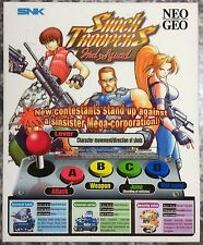 Shock Troopers 2nd Squad Neo Geo Mini Arcade Marquee