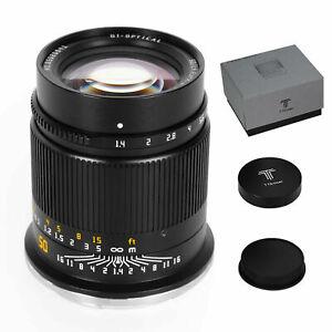 TTARTISAN 50mm F1.4 Full-Frame Manual Fixed Lens For Nikon Z-Mount Z5 Z6 Z6II Z7